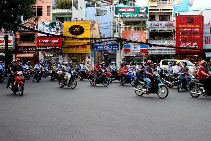 Traffic in Vietnam