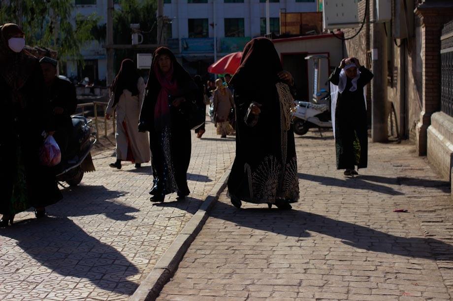 Kashgar, old town