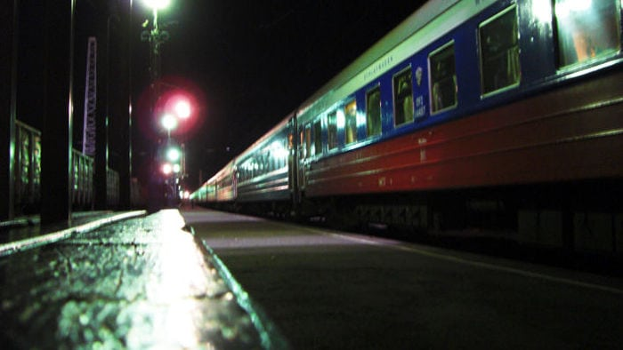 Train Irkutsk