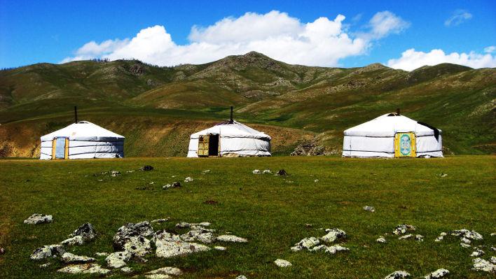 Train Mongolia