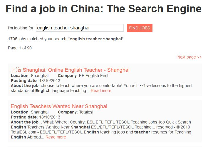 How to Find a Job in China - Job Search Engine for China