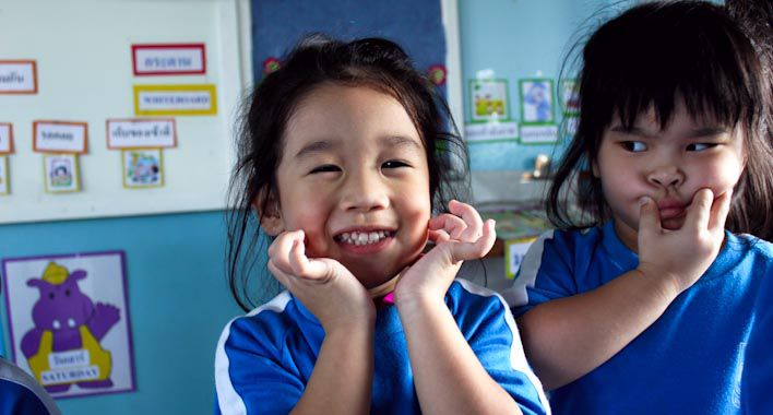 Thailand Kinder Briefe : Teaching english in thailand my experience a kindergarten