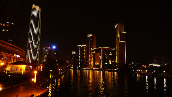 Tianjin By Night