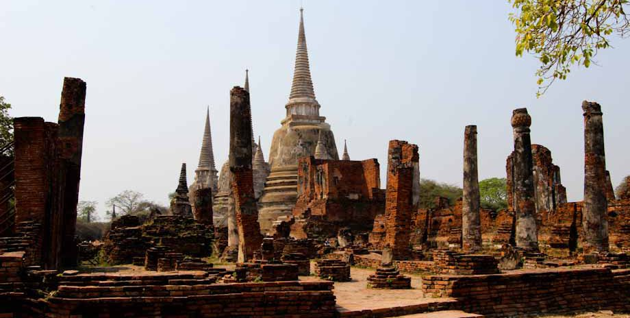 Ayutthaya, the old capital of Thailand