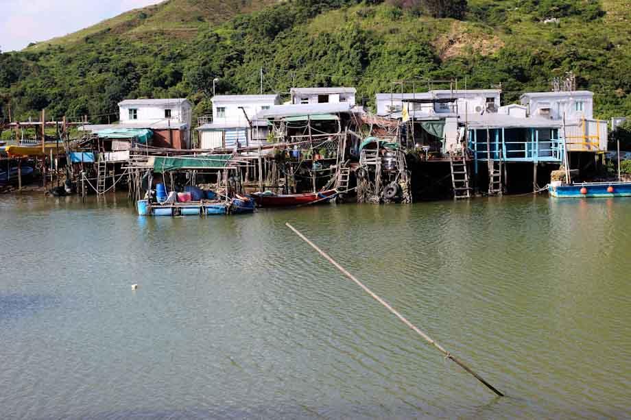 Tai-O Village in Hong Kong