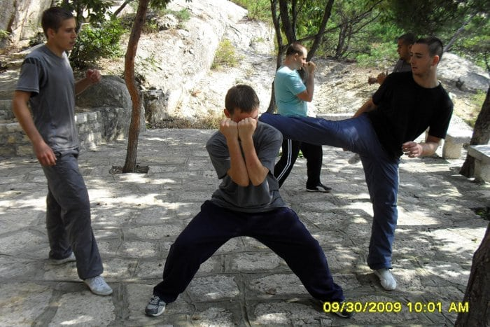 kungfu in china