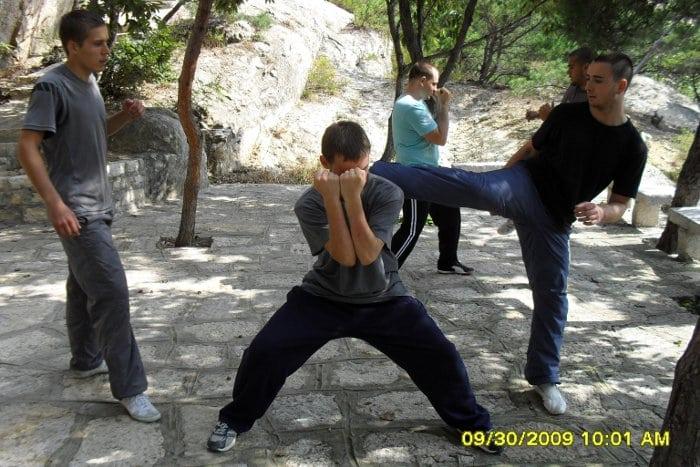 kungfu in china