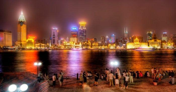 living in Shanghai