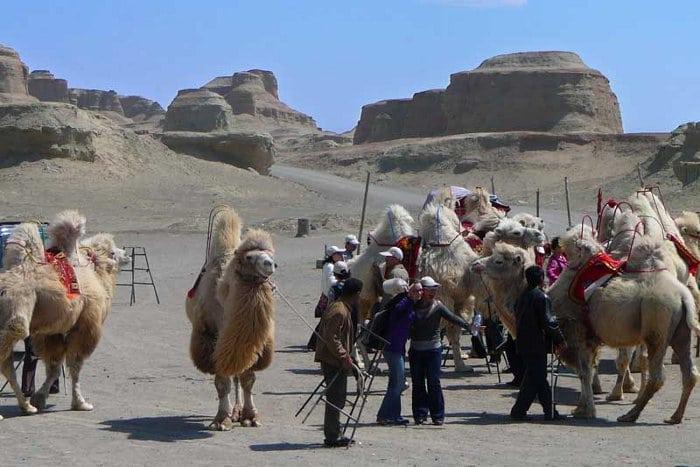 xinjiang desert