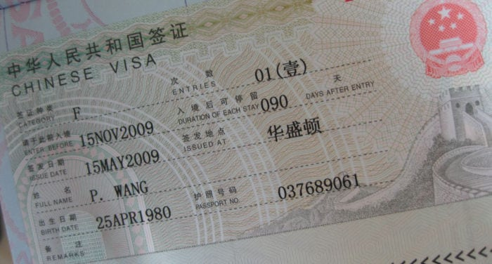 How to Get a Business Visa for China - The Complete Guide 2019