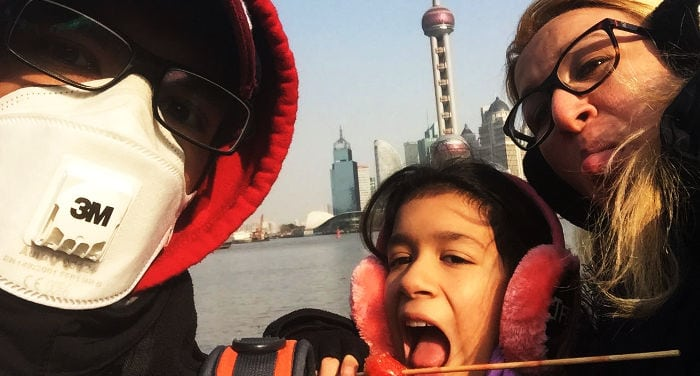moving to china with family