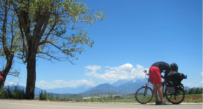Xian-Kunming by bike