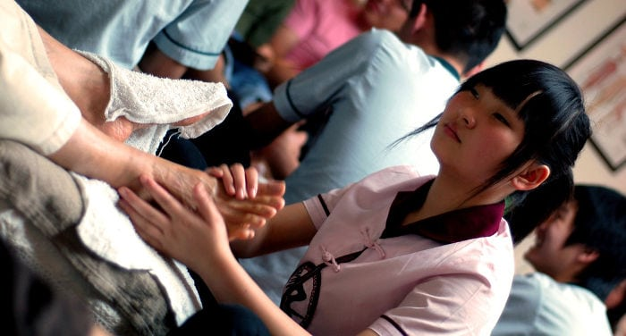 type of massage china