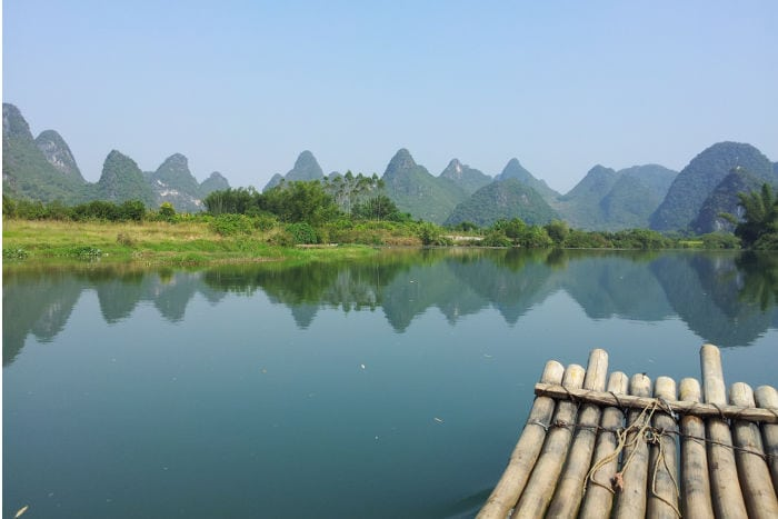 Traveling to Yangshuo