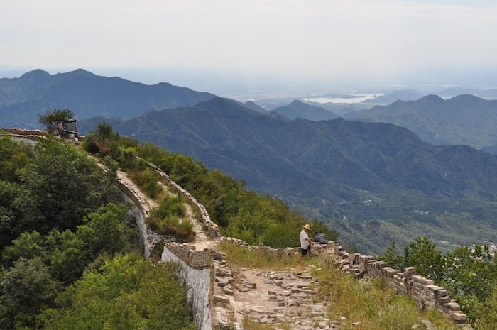 Jiankou Wall