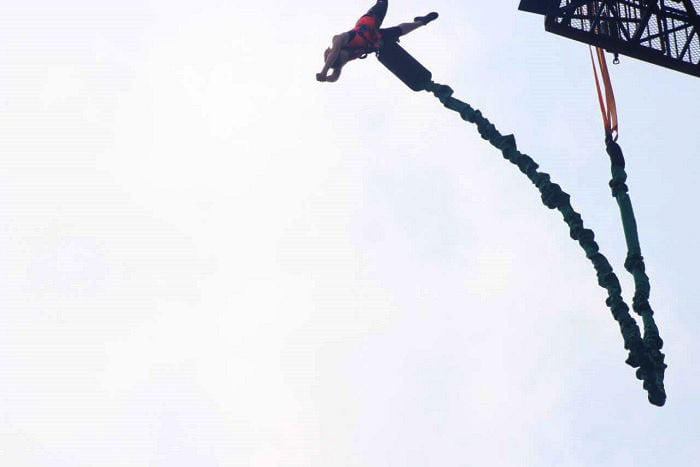bungee jumping in china