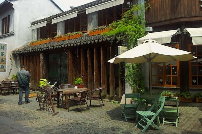 A café in Pingjiang Lu