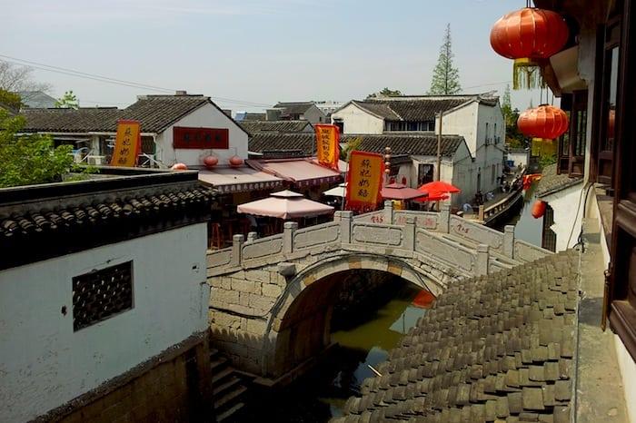 A bridge in Suzhou
