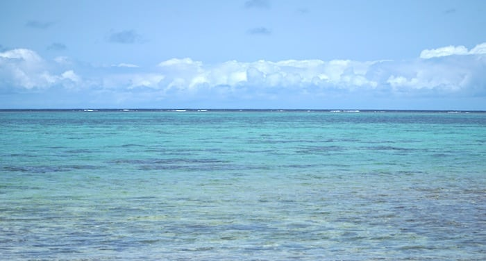The sea in Okinawa