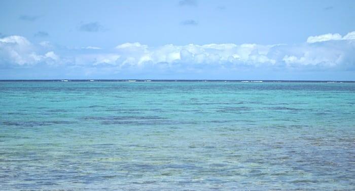The sea in Okinawa