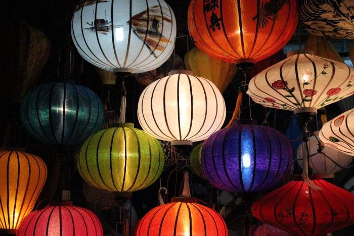 Lamps in Vietnam