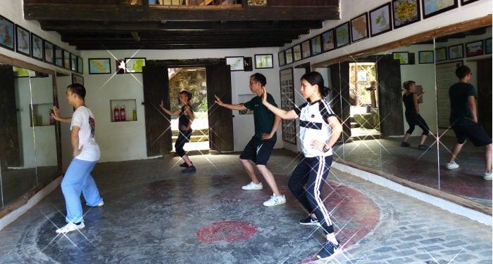 Studying Tai Chi in Yangshuo