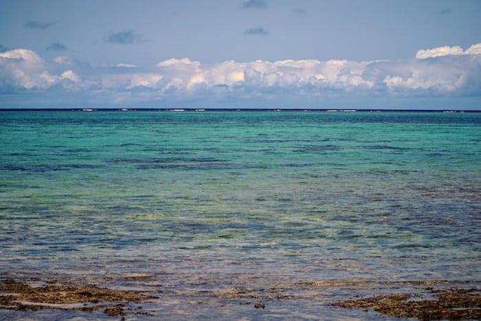 The island of  Okinawa, Ryukyu
