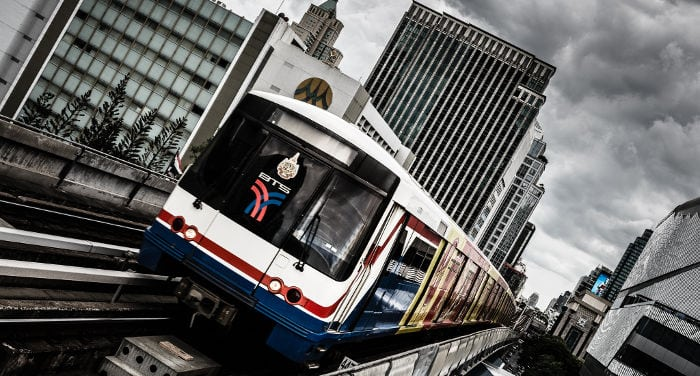 Public transportaton in Bangkok