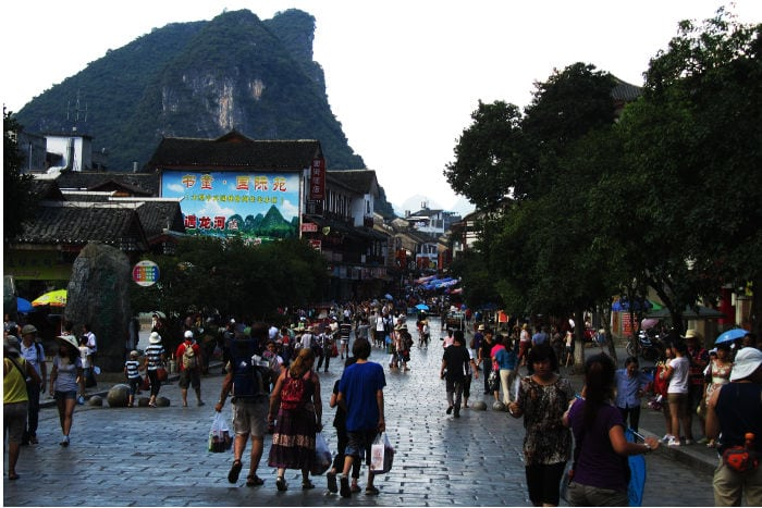 Shopping in Yangshuo