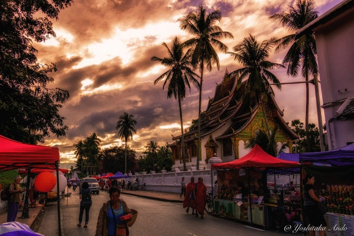 How to arrive to Luang Prabang