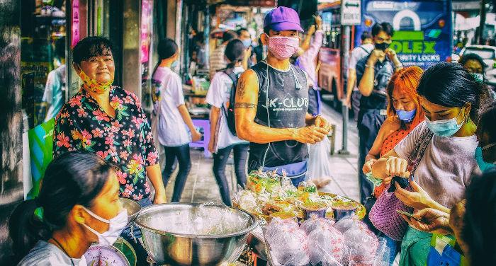 Markets and shopping malls in Bangkok