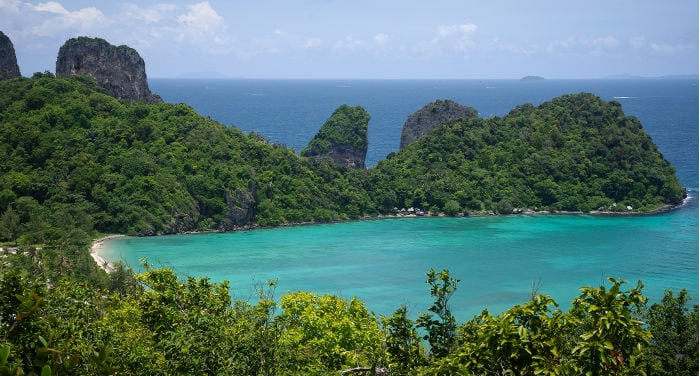 Traveling to Phi Phi Island
