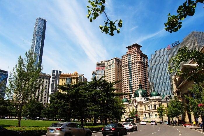 zhongshan square dalian