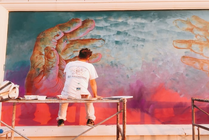 Hands Murals