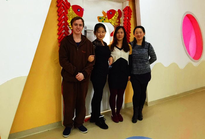 Kindergarten English teacher in China