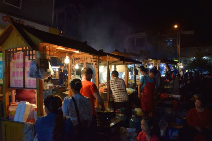 food market in zhenyuan