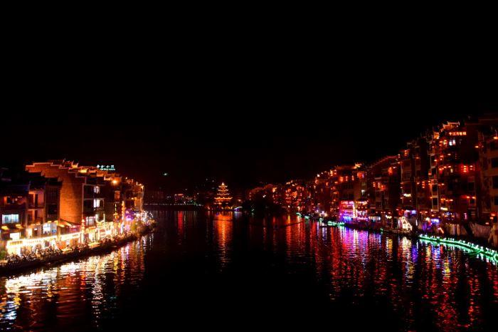 zhenyuan by night
