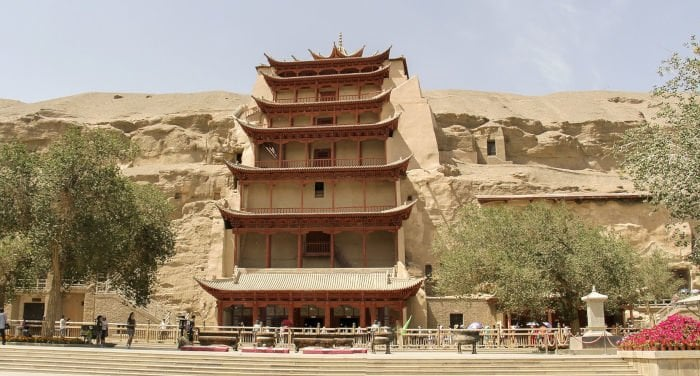 Traveling to Dunhuang