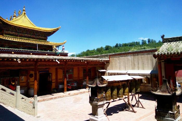 Ta'er Qinghai temple