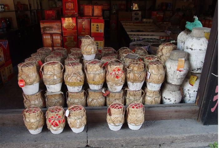 Jars of Huangjiu