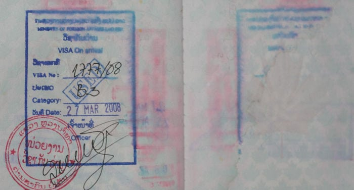 Visa for Laos