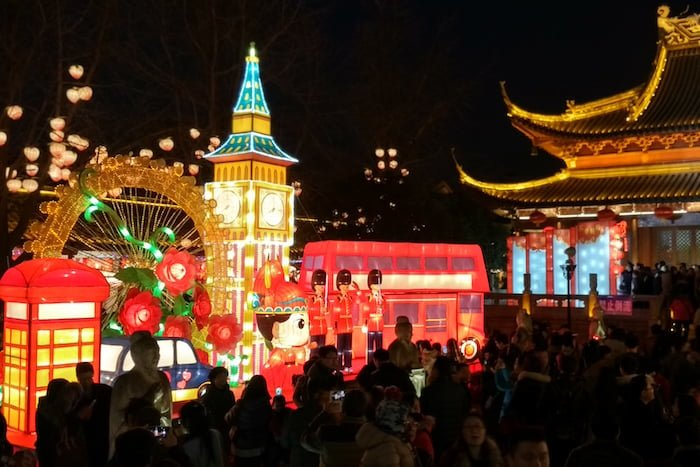 Fuzimiao festival lanterns