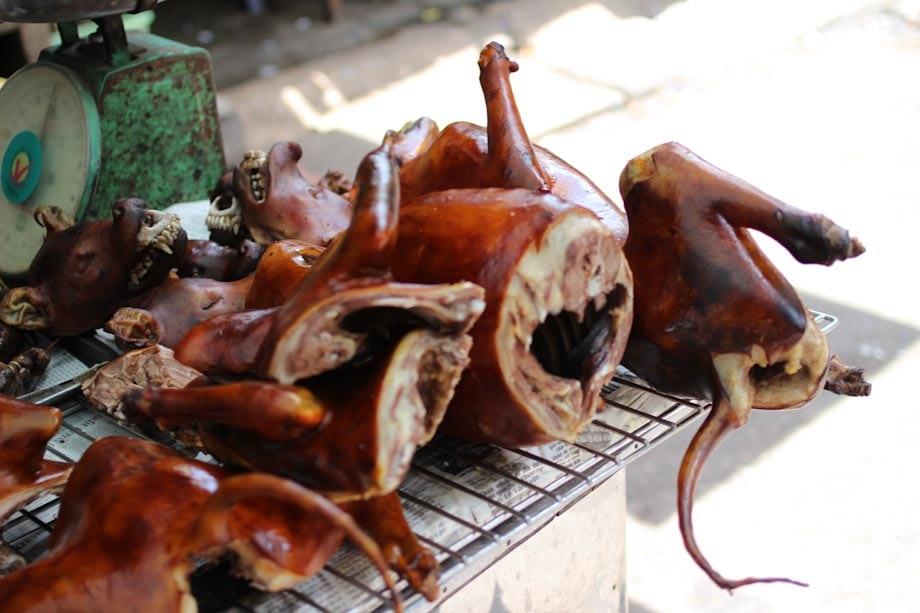 carne de perro en Vietnam