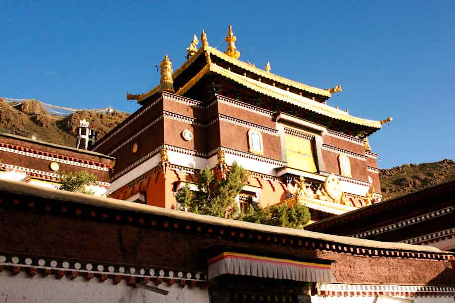 Monasterio en Shigatse