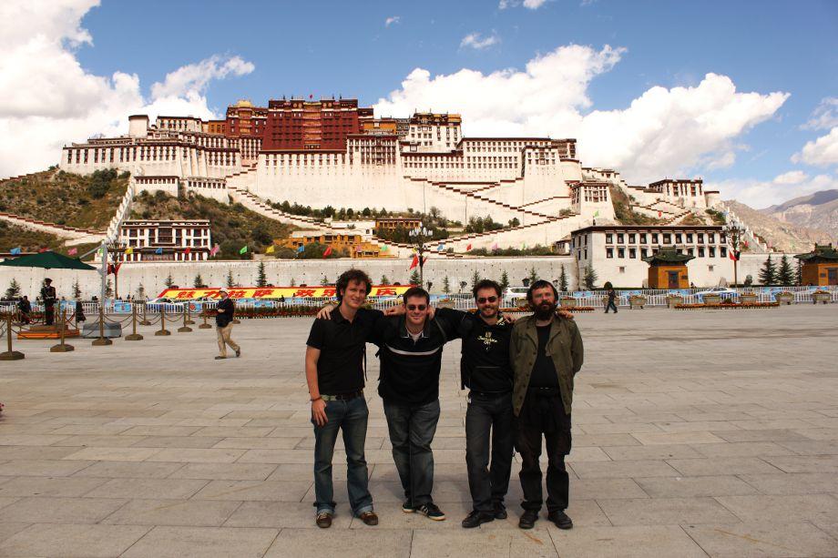 expedición en Tíbet