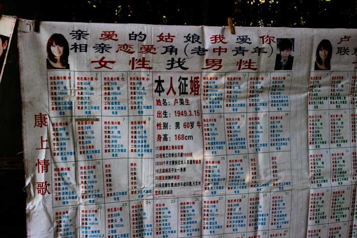 Solteros en Shanghai