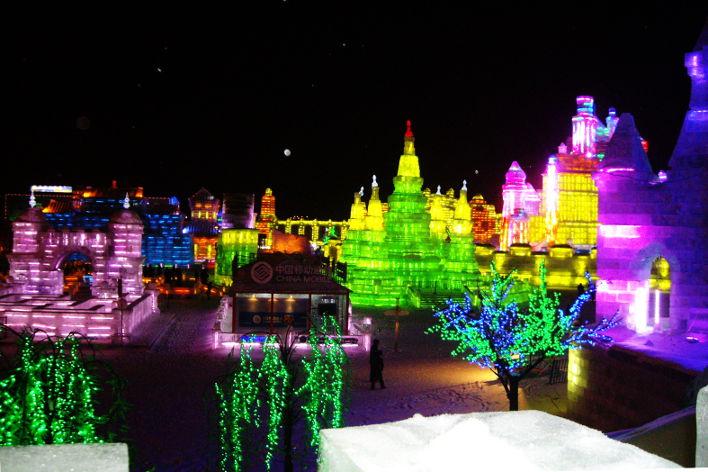 Festival de Esculturas de Hielo y Nieve en Harbin