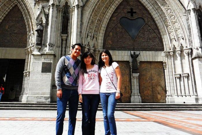 Enseñando Chino en Quito