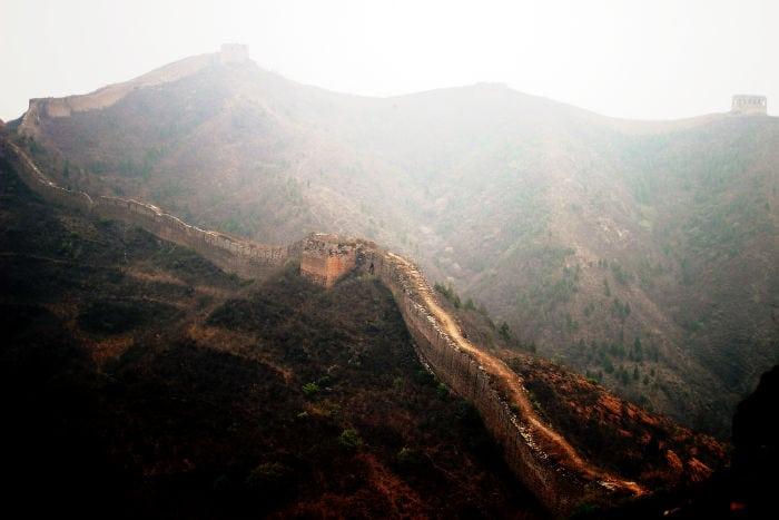 Gran Muralla China sin restaurar