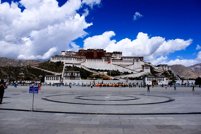 Plaza Lhasa